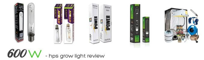 600w hps grow light review
