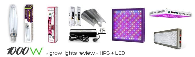 1000w growing lights review