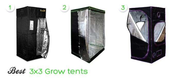 Pin It on Pinterest  sc 1 st  Plantsily & 3×3 Grow Tent Review 2018 | Best for Growing Cannabis! | PlantsILY
