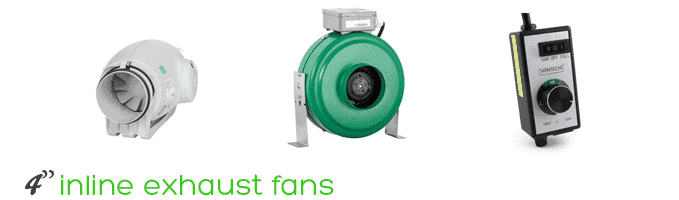 4 inch inline exhaust fans review