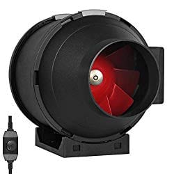 TerraBloom 4-Inch Inline Duct Fan 188 CFM​