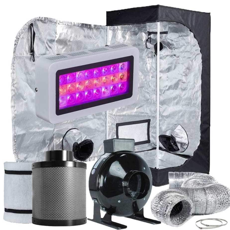 TopoLite - Grow Tent Room Complete Kit