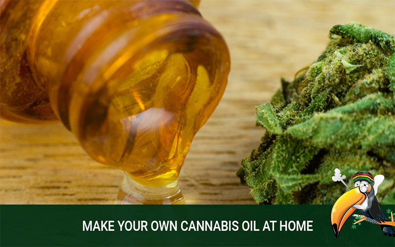 Make the Best Cannabis Oil at Home for Personal Use